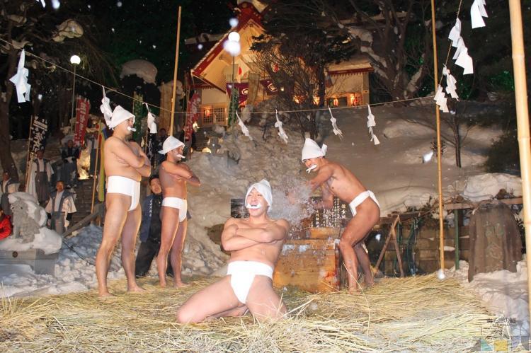 木古内町 寒中禊儀式