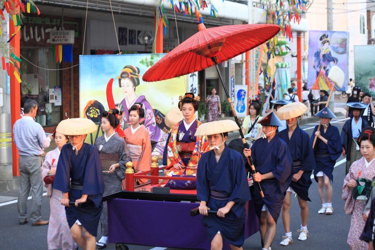 七夕繪燈籠祭