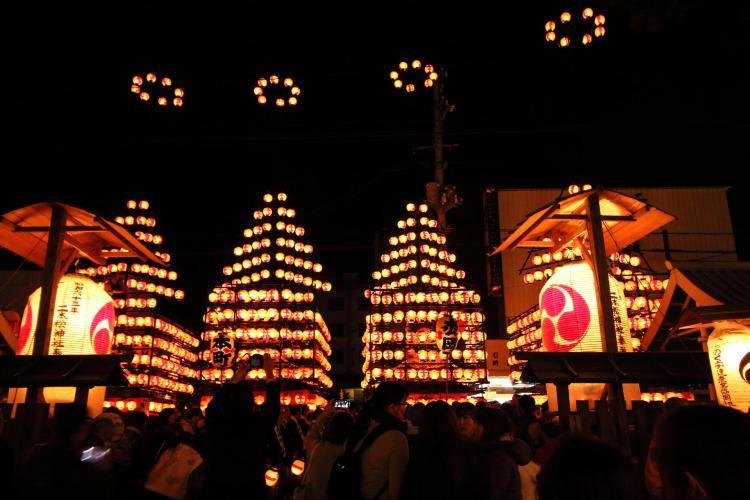 二本松的提燈祭(二本松神社)