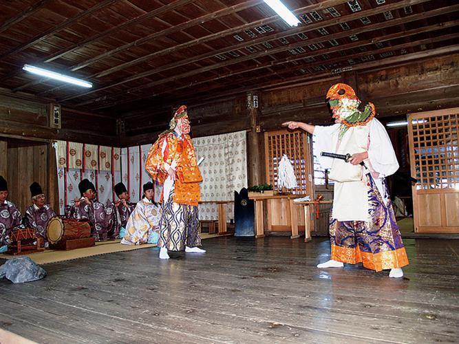 霜月大祭(八槻都都古別神社)