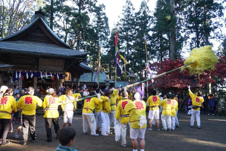 羽黑山梵天祭(羽黒山神社)