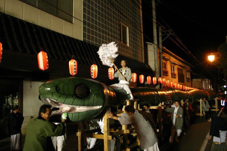 大蛇祭(老神溫泉)