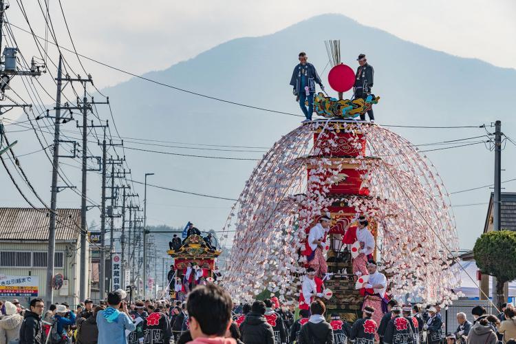 山田春祭(恒持神社)