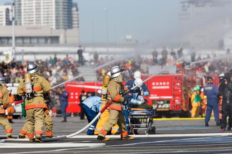 東京消防廳出初式
