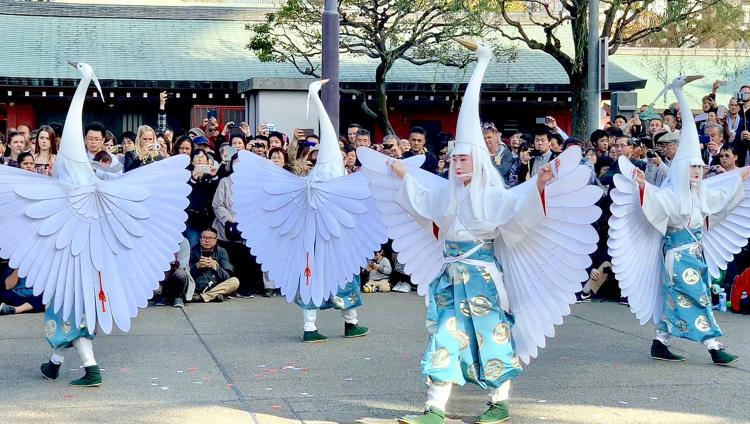 白鷺之舞(淺草寺)