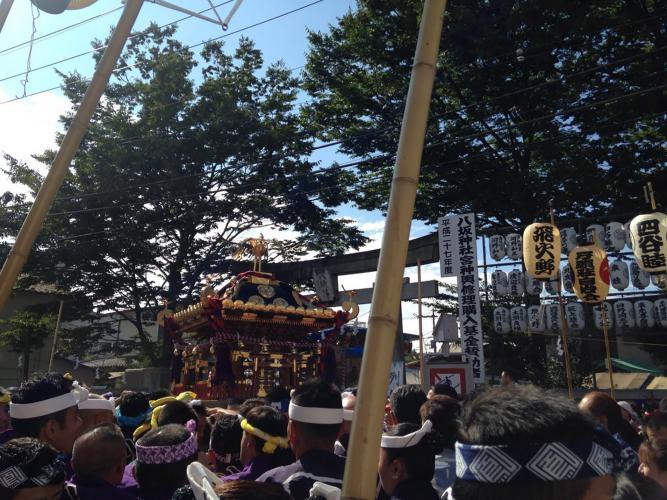 日野八坂神社例大祭