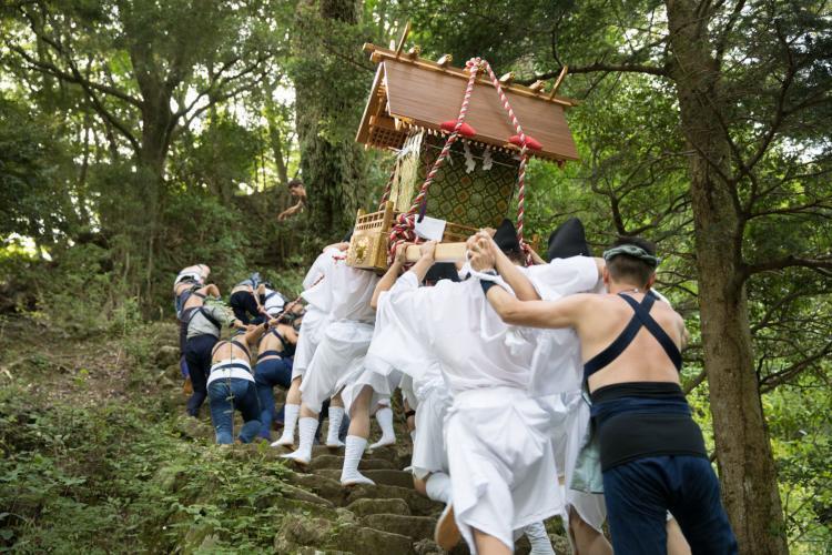 阿夫利神社秋季例大祭