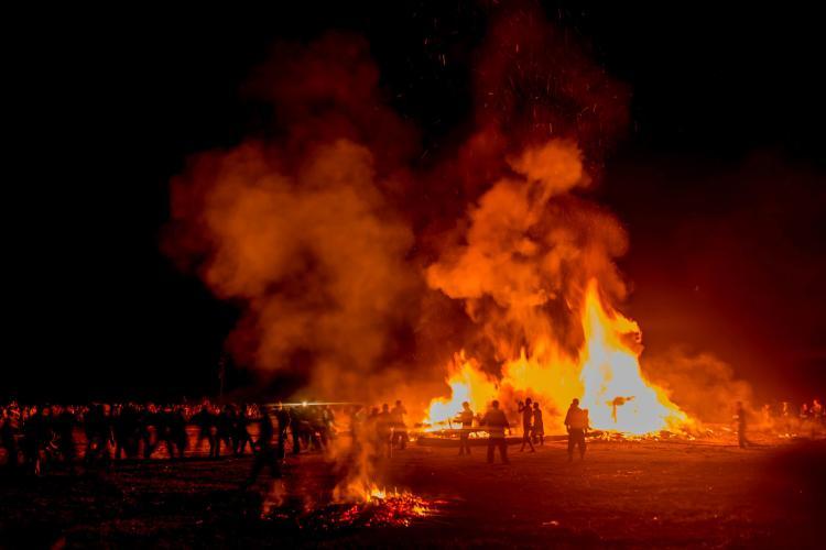能登島向田火祭