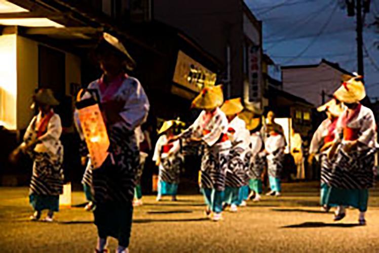 三國湊 帶之町流祭