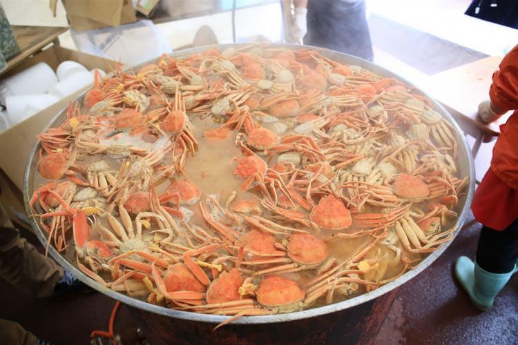 越前螃蟹祭