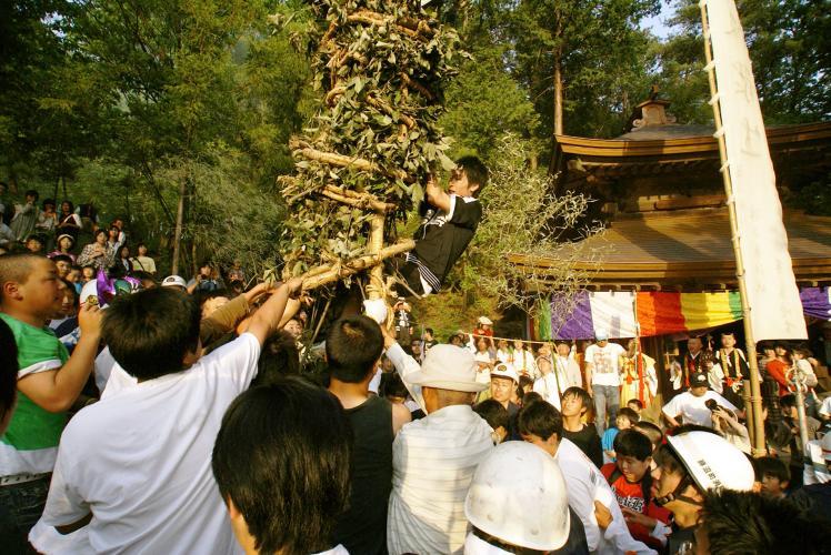 切藤祭(大善寺)