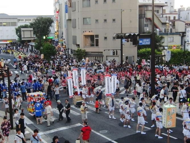 上田Wasshoi祭