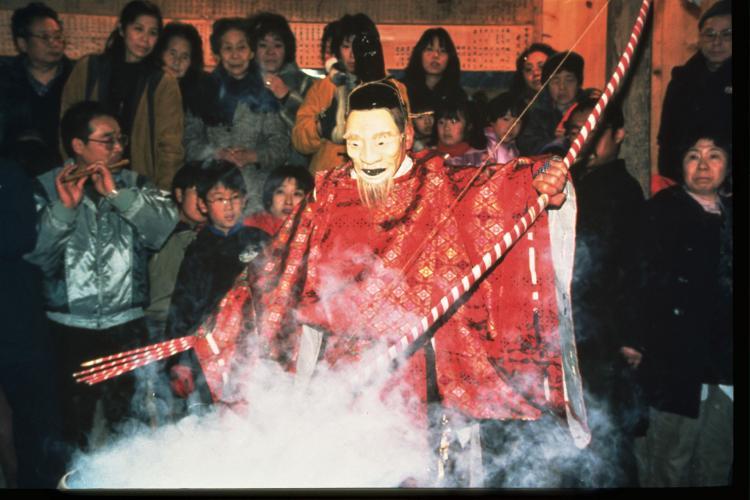 霜月祭(程野・正八幡宮)