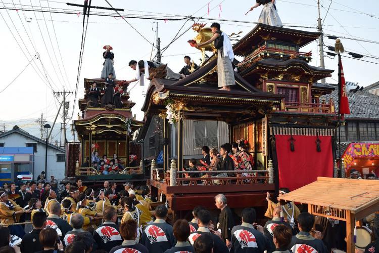 垂井曳山祭(八重垣神社)
