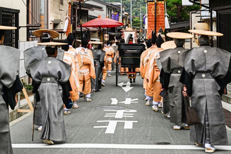 秋高山祭(八幡祭)