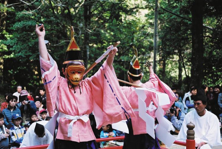東光寺猿舞