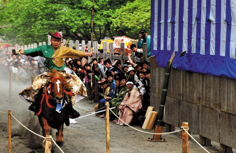 流鏑馬祭(淺間大社)