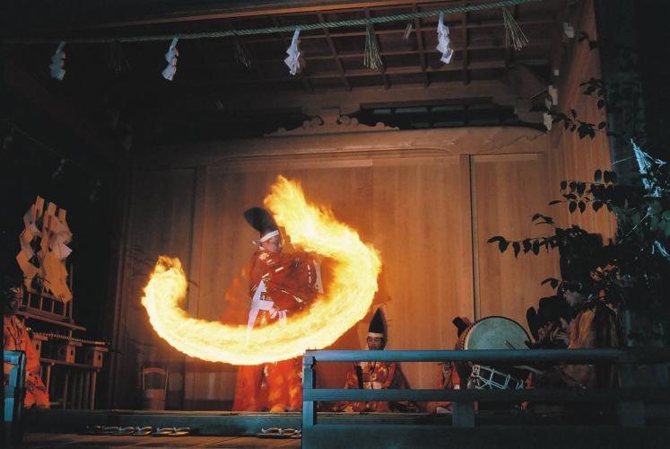 可睡齋 秋葉之火祭