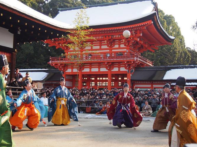 蹴鞠始式(下鴨神社)