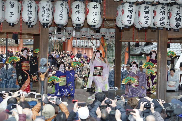 節分祭(八坂神社)