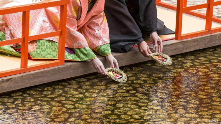 流雛儀式(下鴨神社)
