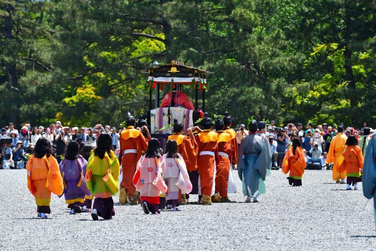 葵祭(下鴨神社、上賀茂神社)