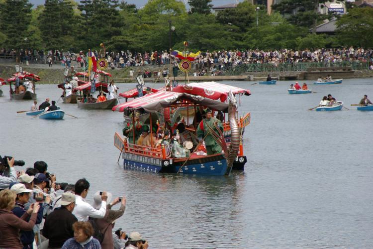 三船祭(嵐山)