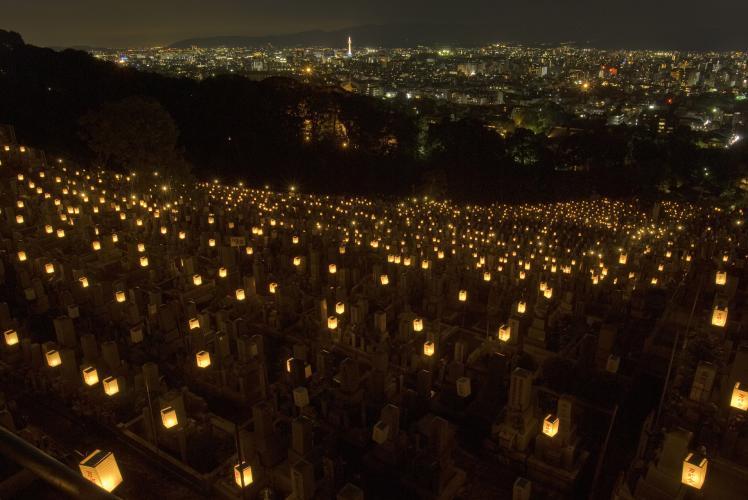 東大谷萬燈會(東本願寺)
