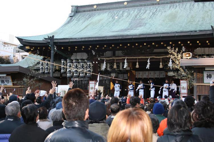 初天神梅花祭(大阪天滿宮)