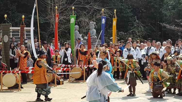 楠公櫻花祭(四條畷神社)