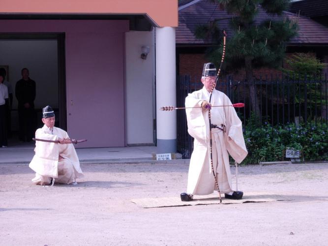 全國弓道大會(住吉大社)