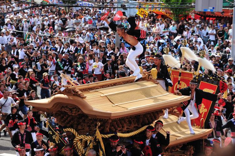 岸和田地車祭