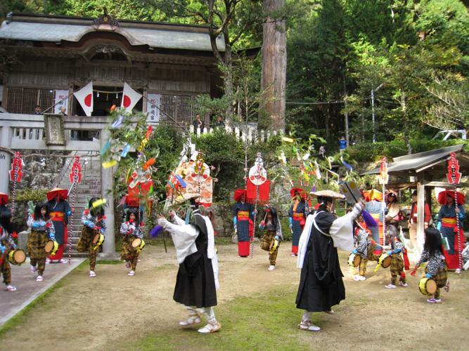 百石舞(駒宇佐八幡神社)