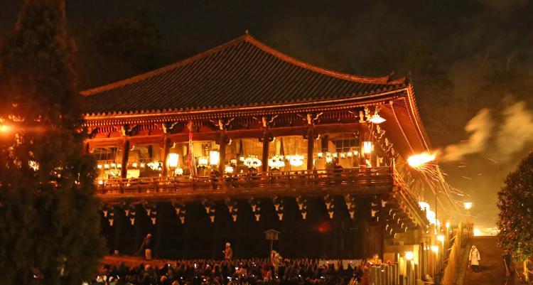 修二會・御水取儀式(東大寺)