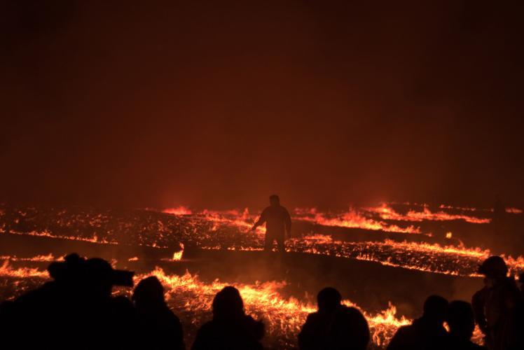 本州最南端的火祭