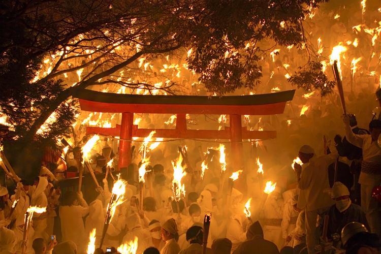 御燈祭(神倉神社)