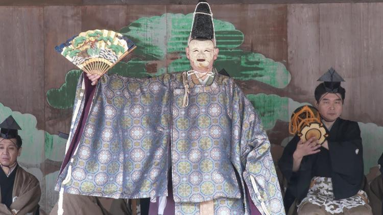 桃花祭御神能(巖島神社)