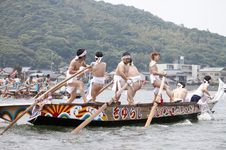 萩的和船大競技