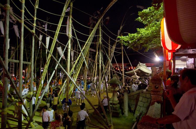 數方庭祭(長府忌宮神社)
