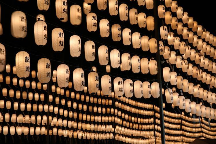 燈籠祭(田村神社)