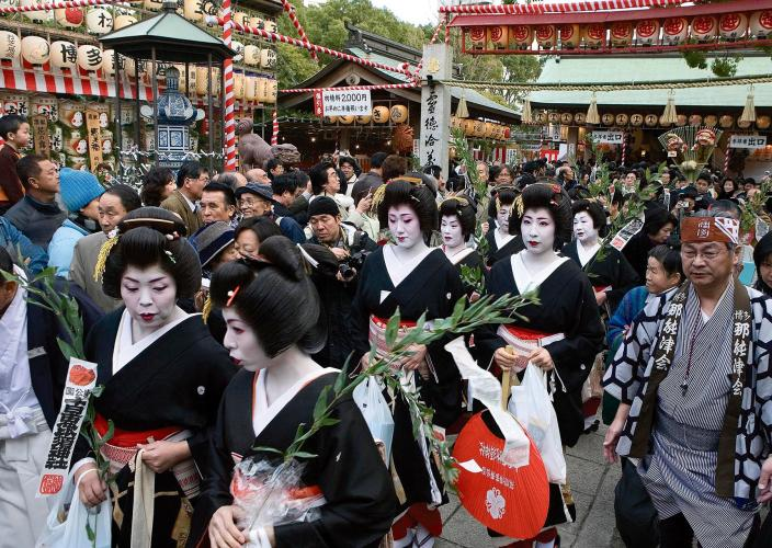 十日戎神社正月大祭
