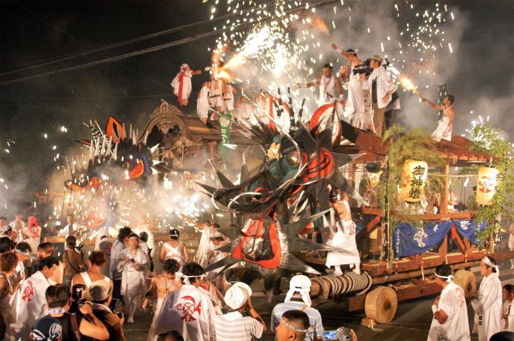 大牟田「大蛇山」祭