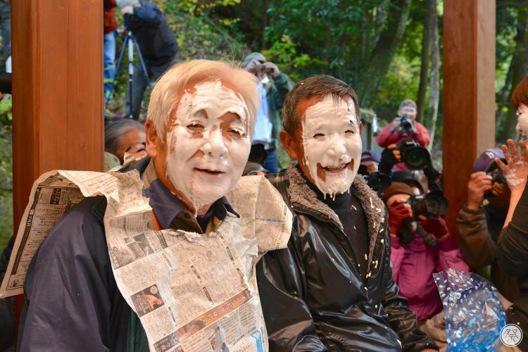 白粉祭(大山祇神社)