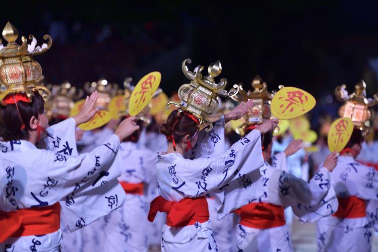 山鹿燈籠祭