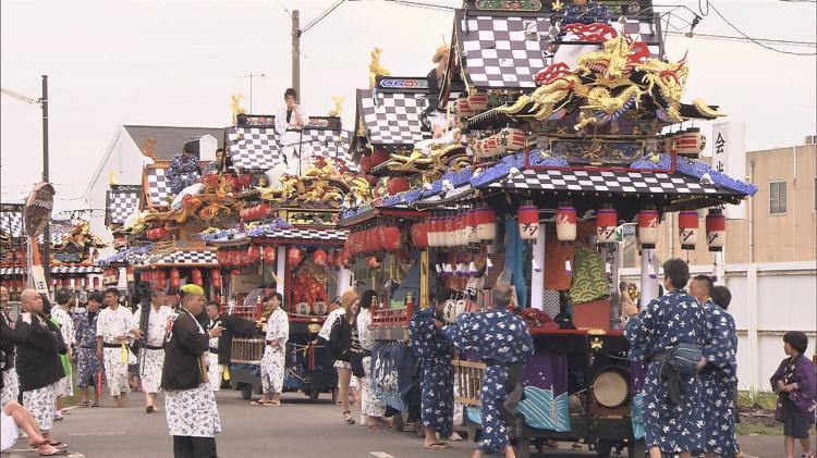 野坂神社春季大祭