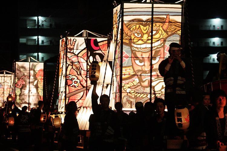 都城六月燈御蔭祭