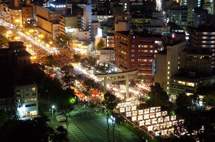 六月燈(照國神社)