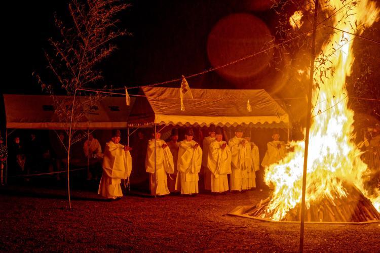 天孫降臨御神火祭