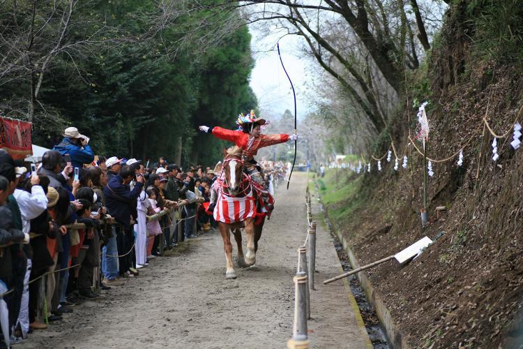 住吉神社的流鏑馬(末吉豐祭)