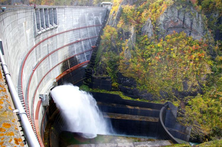豐平峽水壩